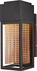 Maxim Lighting Townhouse LED 1-Light Outdoor Wall Lantern in Galaxy Bronze / Rose Gold