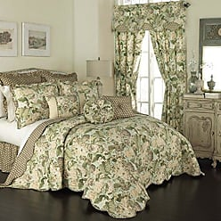Ellery Homestyles WAVERLY Bedspread Collection, King/Cal King, Garden Glory