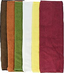 Winco USA Winco BTM-16AC Microfiber Towels, 16 by 16-Inch, Assorted Colors