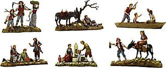 10 cm Bertoni Figurine de Josef Multicolore Multicolore Bois Dense