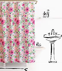 Kate Spade New York Dahlia Shower curtain, Pink