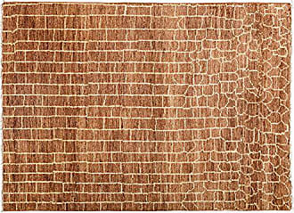 Solo Rugs Moroccan Hand Knotted Area Rug 4 10 x 6 9 Brown