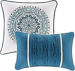 Urban Habitat Coletta Teen Girls Duvet Cover Set Full/Queen Size - Teal, Bohemian Medallion - 7 Piece Duvet Covers Bedding Sets - 100% Cotton Girls Bedding Bed Sets