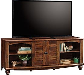 Sauder Sauder 420472 Harbor View Entertainment Credenza, For TVs up to 60, Curado Cherry finish