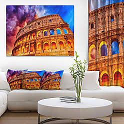 DESIGN ART Colosseum Rome Italy Monumental Photo Canvas Print