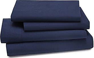 Kassatex LMB-TSS-NVY Lorimer Bedding Twin Sheet Set, Navy