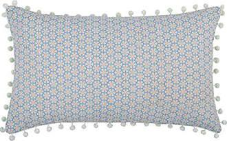 Coton LOVELY CASA Duo Galette Velcro 38X38X4 CM Mousse//Lin