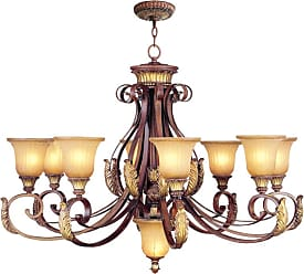 Livex Lighting 8586 Villa Verona 8 Light 1 Tier Chandelier Verona