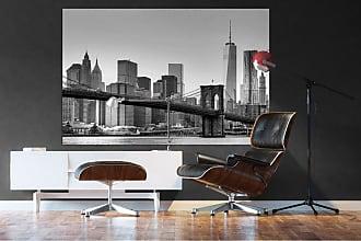 Ideal Decor New York Wall Mural on Vinyl Paper - DM622