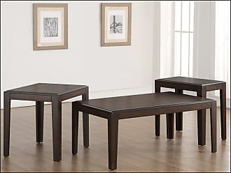 United Furniture 3 Piece Wood Coffee Table Set - 7508-43
