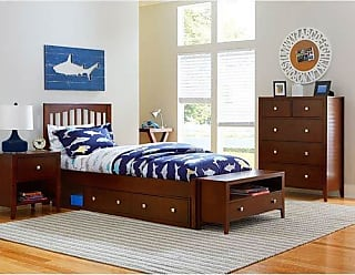 Hillsdale Furniture Hillsdale Kids and Teen 31012NS Pulse Full Storage, Cherry Mission Bed
