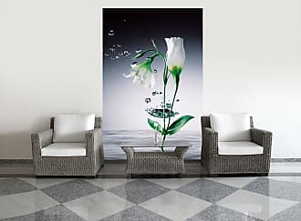 Ideal Decor Crystal Flowers Wall Mural - DM673