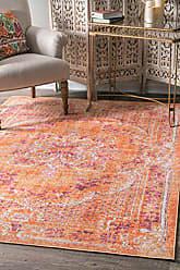 nuLOOM PSJE04A Vintage Obryan Rug, 4 3 x 6 6, Orange