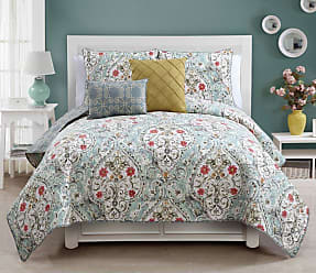 VCNY Evangeline Quilt Set by VCNY, Size: Full/Queen - EVA-5QT-FUQU-IN-BL