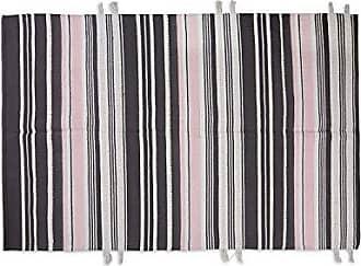 Foreside Home And Garden 4X6 Millennial Stripe Rug