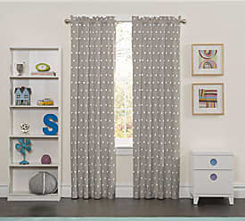 Ellery Homestyles Eclipse Kids 15939042X084GRE Peanut Pals 42-Inch by 84-Inch Single Window Curtain Panel, Grey