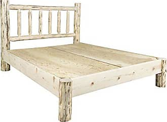 Montana Woodworks MWPBTV Montana Collection Twin Platform Bed, Clear Lacquer Finish
