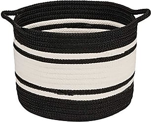 Colonial Mills Outland Basket, 20x20x18, Black