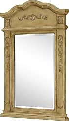 Elegant Lighting Vanity Mirror 24 x 36 Antique Beige
