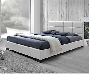 Baxton Studio Vivaldi Upholstered Platform Bed Dark Brown, Size: Queen - CF8514 VIVALDI-DARK BROWN-QUEEN