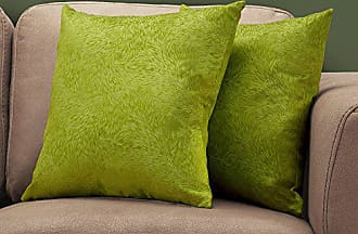 Monarch Specialties I I 9329 Throw Pillow, 18 x 18, Green