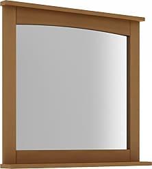 Mão & Formão Espelho com moldura Carbet 78 cm JatobáJatobá