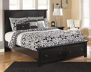 Ashley Furniture Maribel Queen Storage Bed Black
