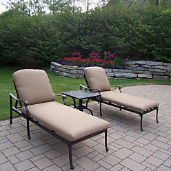 Oakland Living Outdoor Oakland Living Hampton Chaise Lounge Set - 7209-7210-5-D54-AB