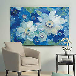 WEXFORD HOME Blue Nocturne I Gallery Wrapped Canvas Wall Art, 32x48