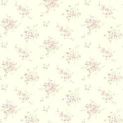 Brewster Home Fashions Elaine Floral Bouquet Wallpaper Magenta - 413-66310