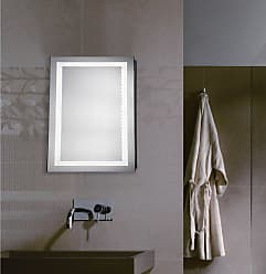 Elegant Furniture & Lighting Rectangle LED Wall Mirror 5000K - MRE-6001
