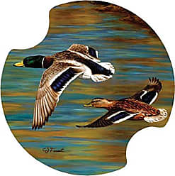 Thirstystone Golden Pond Car Cup Holder Coaster, 2-Pack