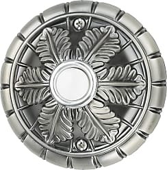 Craftmade Teiber Pushbuttons - Designer Surface Mount - Medallion - Antique Pewter - Lighted
