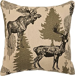 Wooded River Echo Animal Print Indoor Pillow - WD26770