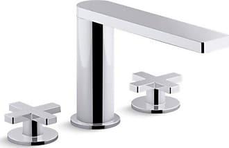 Kohler Composed K73060-3 Widespread 3 Hole Bathroom Sink Faucet - K73060-3-CP
