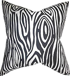 The Pillow Collection Quiana Graphic Bedding Sham Black King//20 x 36