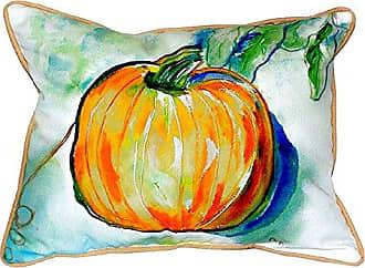 Betsy Drake SN471 Pumpkin Small Indoor/Outdoor Pillow, 11 x14