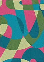 Milliken Carpet 4000029993 Modern Times Element 109X132 Dark Pink