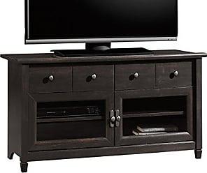 Sauder Sauder 409047 Edge Water Panel Tv Stand, For TVs up to 42, Estate Black finish