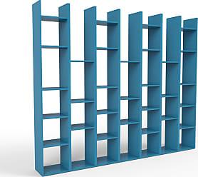 MYCS Bibliothèque   Bleu, Design, étagère Pour Livres, Sophistiquée, Ouverte  Et Fonctionelle