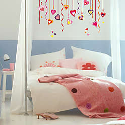 Ideal Decor Hearts On Strings Wall Decals - DM74307