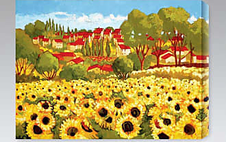 Gallery Direct Sunflower Field I Indoor/Outdoor Canvas Print by Cecile Broz - NE37398