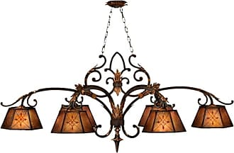 Fine Art Lamps 302540ST Villa 1919 Six-Light Single-Tier Chandelier