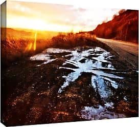 ArtWall Roadside Gallery-Wrapped Canvas Art by John Black, 12 by 18-Inch