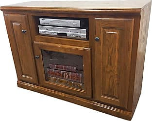 American Heartland 45.5 in. Oak TV Stand - Assorted Finishes - 46847LT
