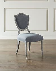 Hooker Furniture Pair of Shield Back Upholstered Side Chairs