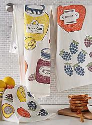 Danica Studio Grandmas jam flour-sack tea towels Set of 3