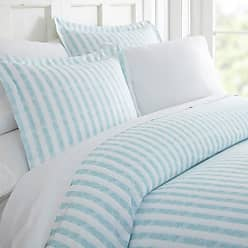 Noble Linens Puffed Rugged Stripes Duvet Set by Noble Linens