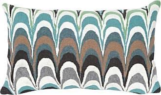 Liora Manne Floating Ink Indoor/Outdoor Pillow Blue - 7SC1S341904