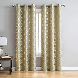 VCNY Home VCNY Home Julia Window Treatment Curtains 76x95, 38 x 95, Gold